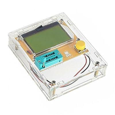 SainSmart 12864 Pocketable Transistor Tester Capacitance ESR Diode Triode Triac MOS Meter