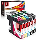 JetSir Compatible Ink Cartridge Replacement for Brother LC203 LC 203XL,Use on Brother MFC-J480DW MFC-J485DW MFC-J680DW MFC-J460DW MFC-J880DW MFC-J4620DW MFC-J5720DW MFC-J5520DW MFC-J4420DW Printer
