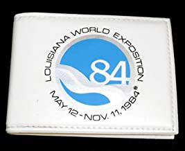 Vintage 1984 Louisiana World Exposition Souvenir Vinyl Wallet