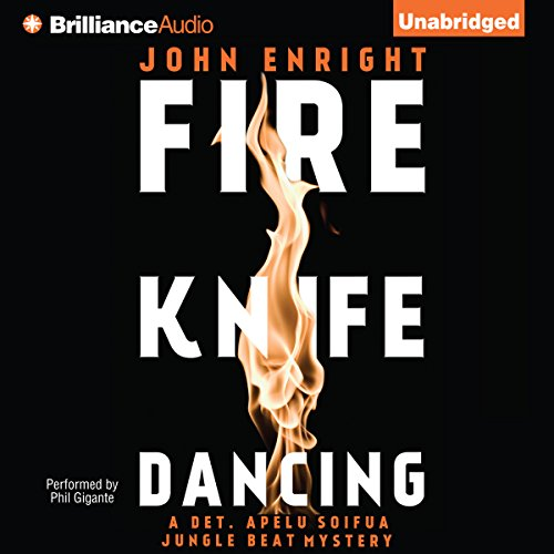 Fire Knife Dancing audiobook cover art