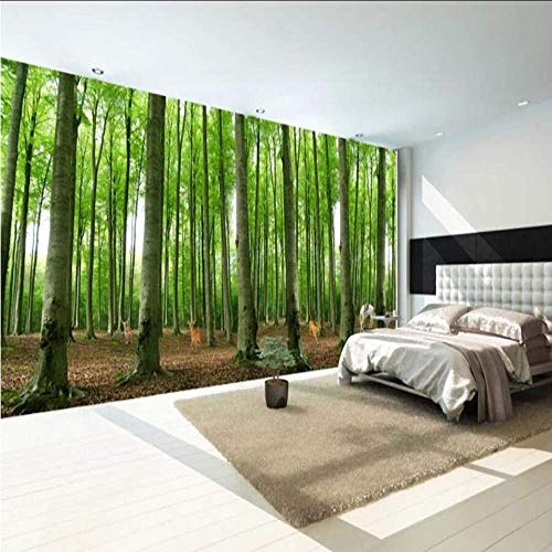 Cczxfcc 3D Origin Forest foto behang muurschildering muurschildering huis muur papieren bedrukt muur muurschilderingen De pared elke grootte 400 cm.