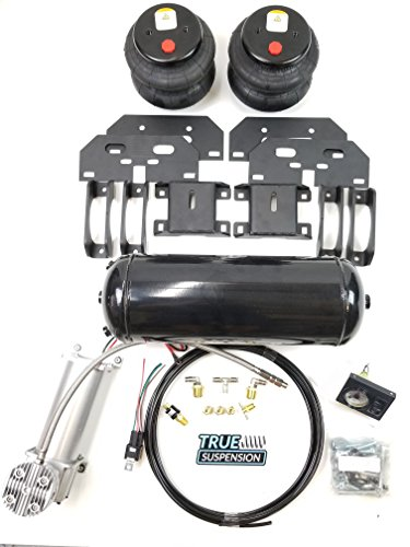 TS - Compatible with Dodge 2500 4wd Pickup Truck Towing Assist Helper Air Ride Suspension Kit Complete With Air Management Control