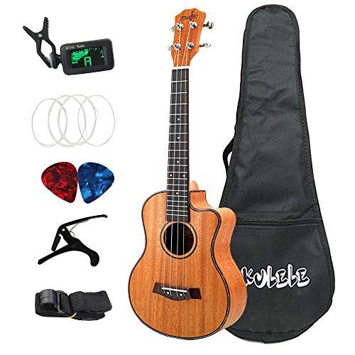 Breezeu 26 Zoll Ukulele Set 19 Fret Tenor Mahagoni Holz Ukulele Hawaii 4 String Gitarre Guitarra Palisander Griff Brett Metall Heringe
