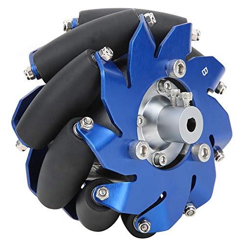 4in Mecanum Wheel Left Aluminium mit TPU-Gummiwalzen Industrieroboterzubehör - Produkte von wirklich guter Qualität, kein Müllhaufen