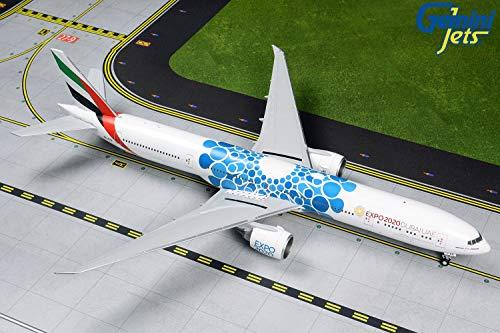 Daron GeminiJets G2UAE776 1:200 Emirates Boeing 777-300ER Blue Expo 2020