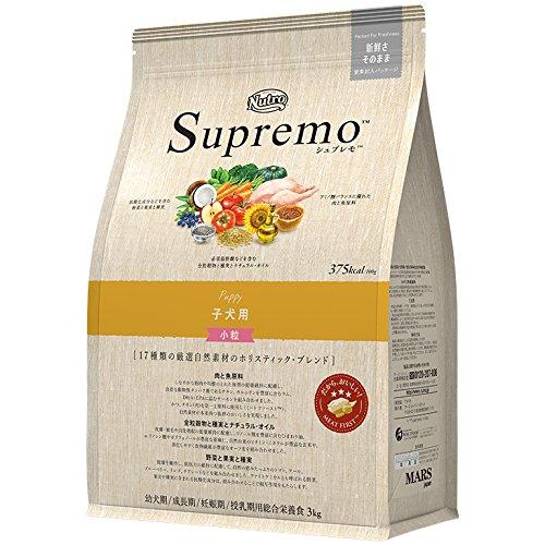 ニュートロジャパン シュプレモ 全犬種用 子犬用 小粒 3kg