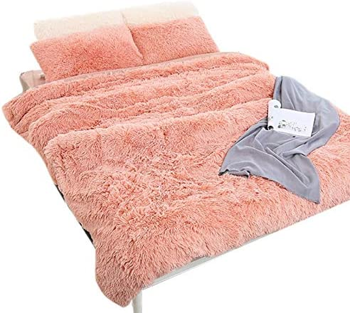 Surprise price Super Soft Blanket Long Trust Fur Artificial Fuzzy Gif