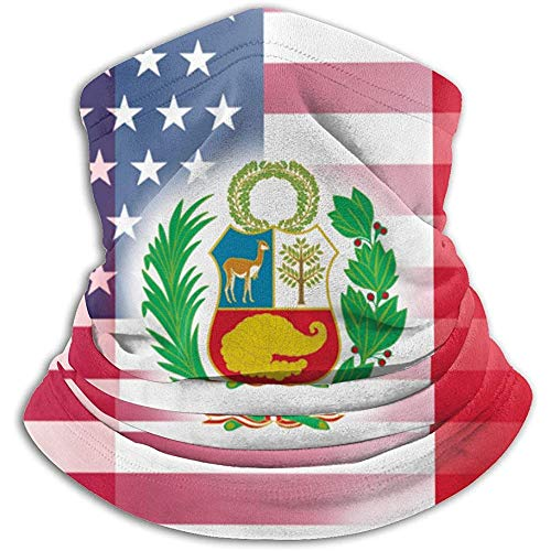 USA Peru Fahne Sturmhaube, Sturmhaube, Skibrille, kalte Zeit, Gesicht, Wintermaske, Hüte, Q5S-SXG