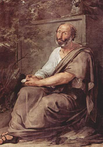 Quadro Decorativo Arte Aristoteles Filosofo
