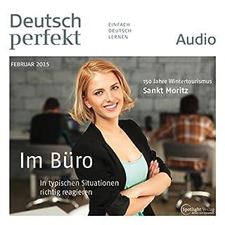 Deutsch perfekt Audio - Im Büro. 2/2015 Titelbild