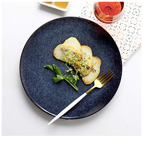 XIUXIU Assiette à salade en céramique créative de la série Star