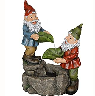 Acrylic Gnome Garden Water Fountain