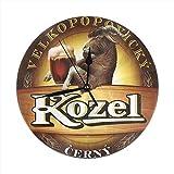 BaboLye Kozel Beer Round Home Decor Wall Clock 9.84'