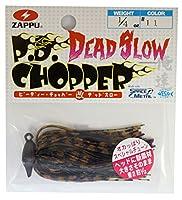 ZAPPU(ザップ) ラバージグ PDチョッパー改デッドスロー 1/4oz(7g) ピーナッツバター&ジェリー #11