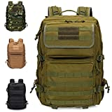 Armybag® | Wasserdichter Outdoor Rucksack Grün - 45-47 Liter Volumen - Militär Rucksäcke - Reise & Wanderrucksack - Rucksack Herren & Damen groß