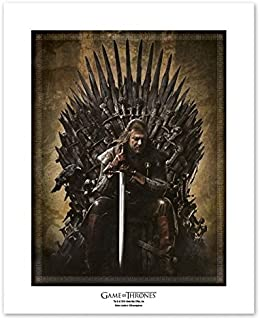 """ABYstyle Game of Thrones """"Throne"""" Collector Artprint (Multi-Colour)"""