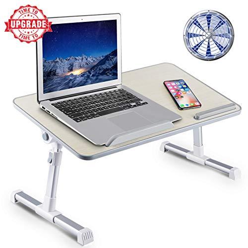 Soporte ajustable para ordenador portátil de 8 AM con patas plegables, mesa para ordenador portátil, para lectura y escritura, bandeja para comer en la cama, sofá, sofá o suelo
