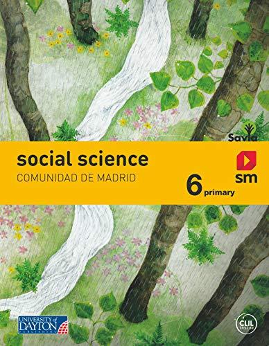 Social Science. 6 Primary. Más Savia. Comunidad de Madrid