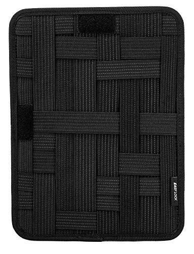 KeySmart Urban Union Backpack & Bag Accessories (Grid Organizer, Black)