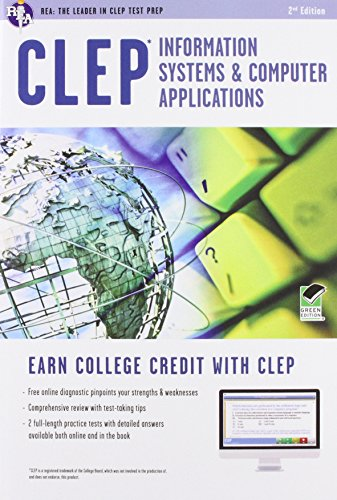 Clep Information Systems Computer Applications Book Online Clep Test Preparation