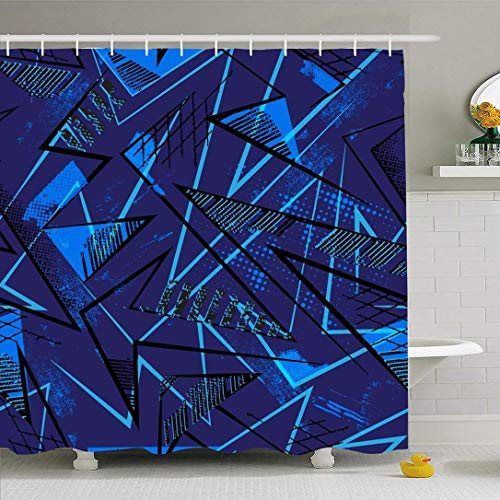 HUNSHA 61 azul ins viento dibujos animados pegatinas decorativas equipaje refrigerador coche pegatinas graffiti pegatinas