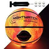 Light Up LED Basketball - Official Size 7 - Extra Pump and Batteries - Perfect Glow in The Dark...