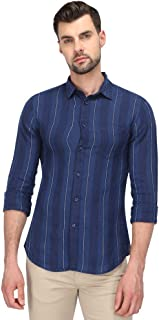 Celio Men's Striped Regular fit Casual Shirt