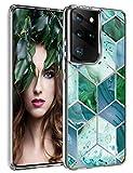 Funda de silicona compatible con Samsung Galaxy S21 Ultra 5G, carcasa transparente antigolpes, TPU...