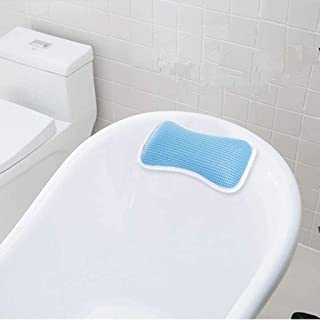 YXHMdd Bathtub Pillow with 2 Strong Suction Cups,Anti Bacterial Cushion Home Spa Non Slip Support ,for Bathtub Hot Tub Jacuzzi