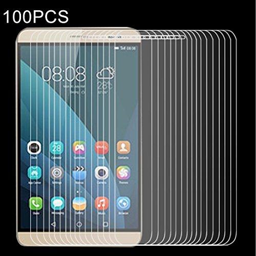 N/A Bildschirmschutz 100 PCS for Huawei MediaPad X2 0.4mm 9H + Oberflächenhärte 2.5D explosionsgeschützter ausgeglichener Glasfilm