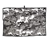 BaPaLa Gray Camouflage Golf Towels Absorbent...