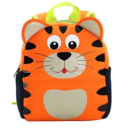 Hanggg Rugzak voor kleuterschool, voor kinderen en kinderen tigre