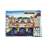 3D Italien Kühlschrankmagnet Souvenir Geschenksammlung Home and Hitcken Dekoration Magnet Sticker Kühlschrankmagnet Ponte Vecchio
