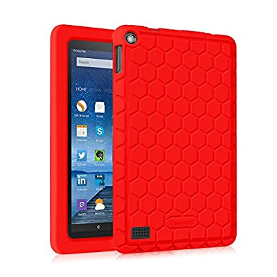 Fintie Silicone Case for Fire 7 2015