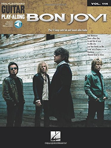 Bon Jovi: Guitar Play-Along Volume 114