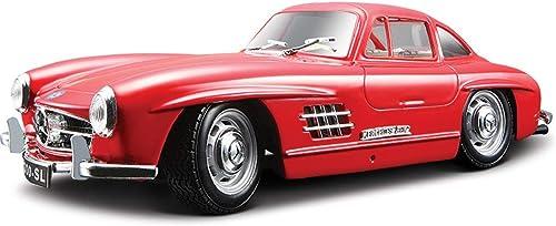 estilo clásico DYHOZZ 1 24 Modelo de Coche Modelo Modelo Modelo de aleación Modelo de coleccionismo artesanía - Color  rojo -18.8CM × 7.51CM × 5.4CM Modelo de Auto  Felices compras