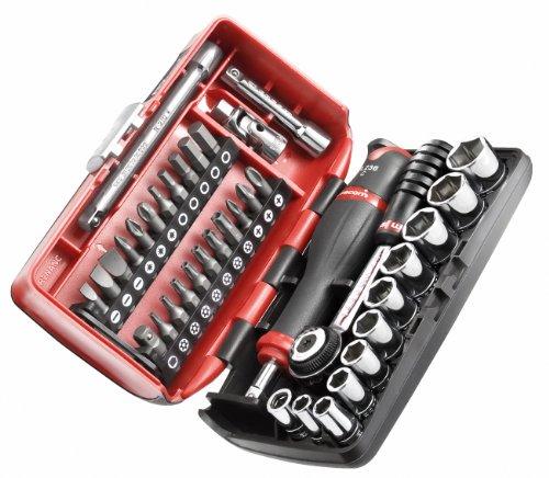 Facom R2NANO.PG Coffret compact de serrage 1/4' + Set de vissage 38 outils