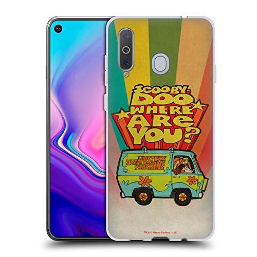 Head Hülle Designs Offizielle Scooby-DOO Wo bist du Vintage Soft Gel Huelle kompatibel mit Samsung Galaxy A8s (2018)
