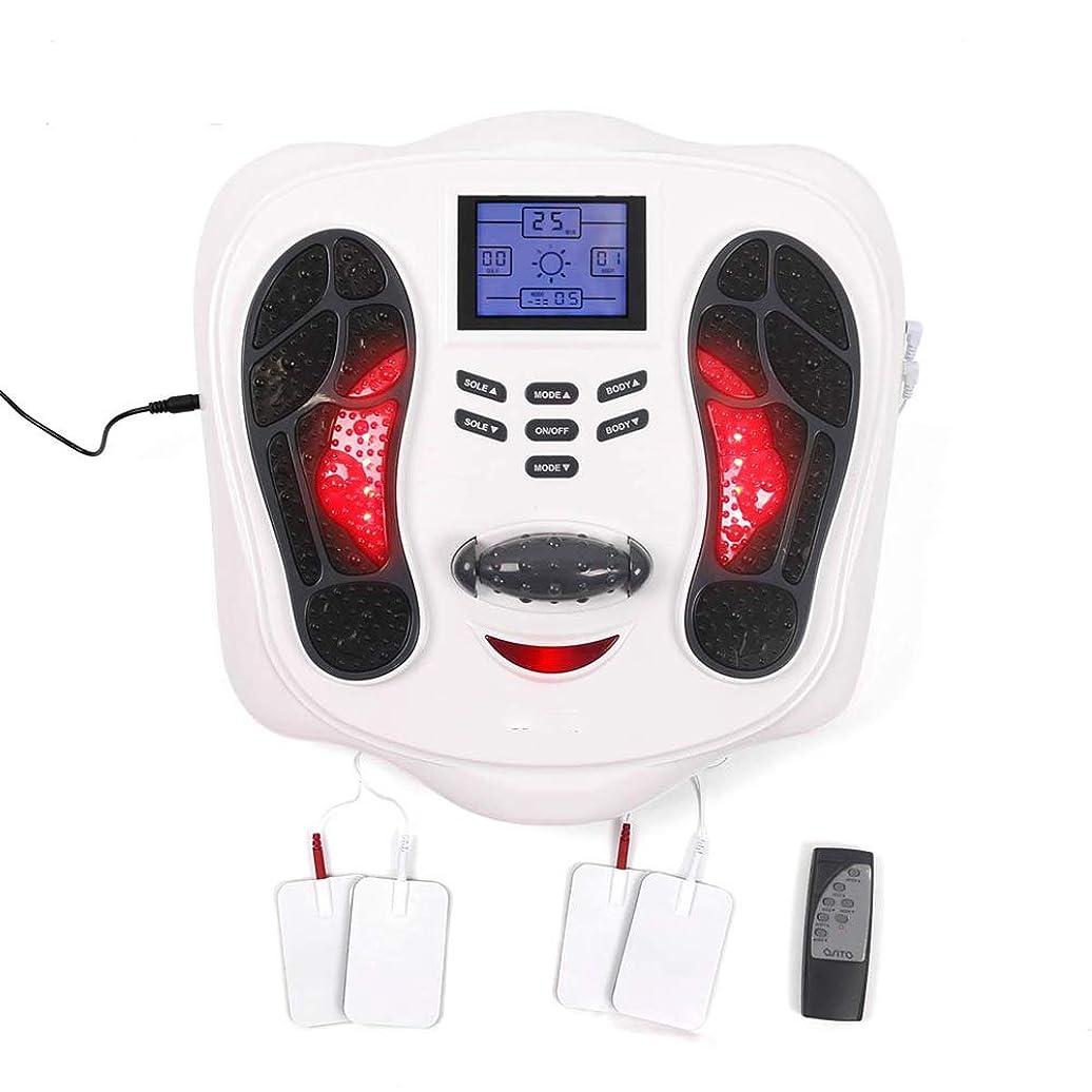 一晩浅い福祉大型LCDディスプレイと血液循環のための赤外線加熱と電気EMSフットマッサージ