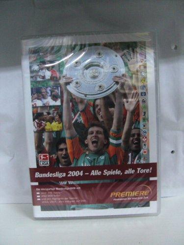 Bundesliga 2004 - Alle Spiele, alle Tore! Auf 2 DVDs - Die einzige Bundesliga-DVD mit allen 306 Spielen - allen 909 Toren - und den Highlights der Saison 2003/2004 - alles kompakt auf DVD
