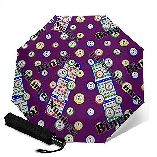 Nicht Bingo Ich Brauche noch einen automatischen Dreifach-Regenschirm für Outdoor-Aktivitäten wie das Einkaufen auf Reisen