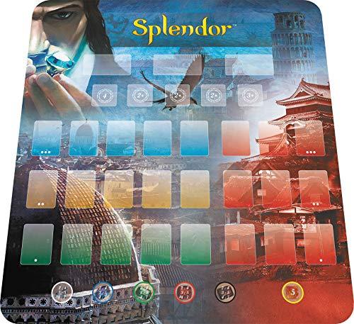 Asmodee- Splendor : Playmat, SCSPL01PM2, Tapis
