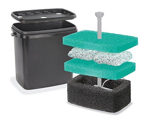 Filterbox L für Solar Teichpumpen Teichfilter Gartenteich Pumpe esotec 101715