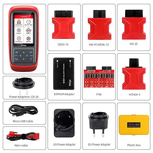 XTOOL X100 Pro2 New Model Pre-Coding Immobilizer Car Key Programmer OBD2 Diagnostic Scan Tool Not Work for Mileage
