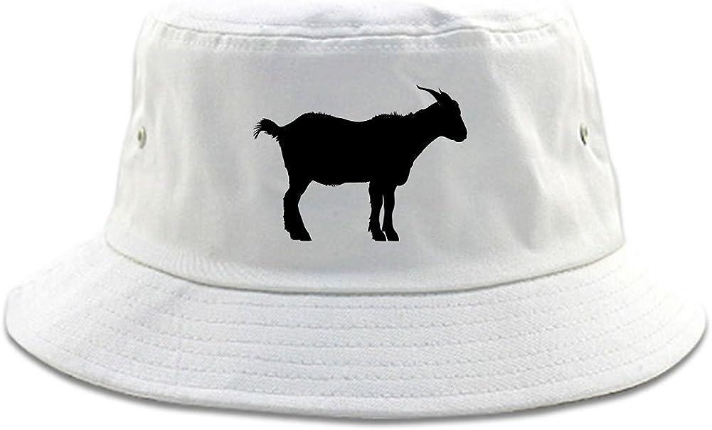 Goat Animal Chest Mens Bucket Hat Cap