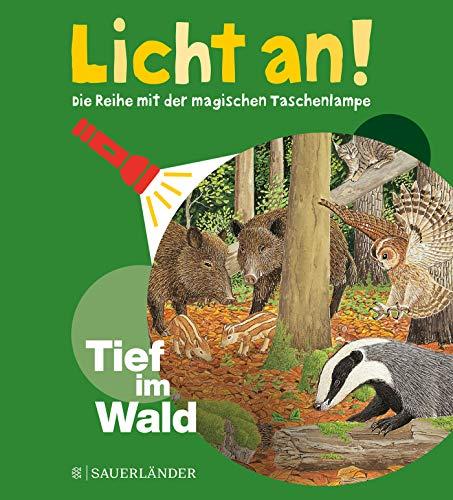 Tief im Wald: Licht an! (Licht an! Die Reihe mit der magischen Taschenlampe, Band 4)