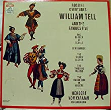 KARAJAN ROSSINI OVERTURES WILLIAM TELL vinyl record