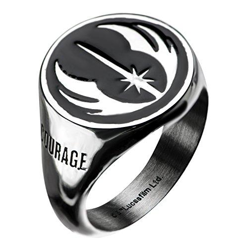 Star Wars - S10 Jedi Signet, Officially Licensed Artwork - Ring