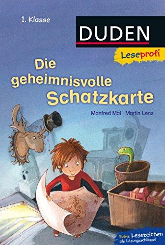 Duden Leseprofi – Die geheimnisvolle Schatzkarte, 1. Klasse (Leseprofi 1. Klasse)