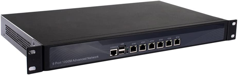 Firewall,VPN,1U Rackmount, Network Security Appliance,Router PC,6 Nics I5 2540M/I5 2520M with AES-NI Support 8G RAM 64G SSD R11